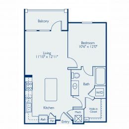 Bell Lake Forest A1A Floor Plan