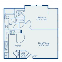 Bell Lake Forest A1C Floor Plan