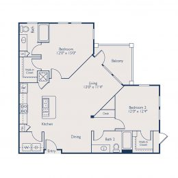 Bell Lake Forest B2C Floorplan