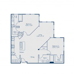Bell Lake Forest B2D Floor Plan