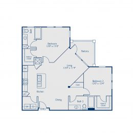 Bell Lake Forest B2E Floor Plan