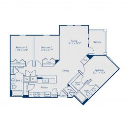 Bell Lake Forest C2A Floorplan